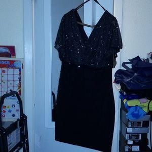 NWT glitter top dress